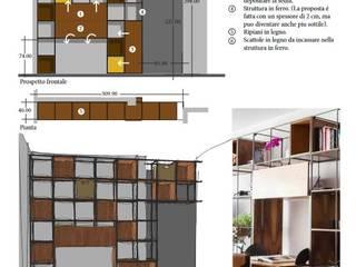 deepp srl Modern style bedroom