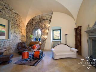Andrea Fabrizi Country style media room