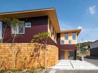 キリコ設計事務所 Casas de estilo ecléctico
