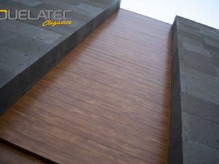 Lamitec SA de CV Windows & doors Doors Metal Wood effect