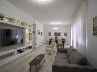 casa P&M Rosa Gorgoglione Architetto Soggiorno moderno