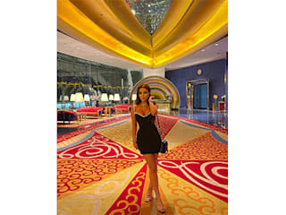 Luxury Antonovich Design Nowoczesna sypialnia