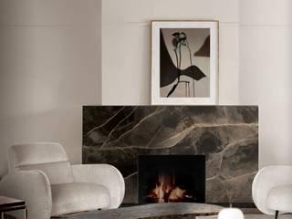 Mid-Century Home Inspirations DelightFULL Ruang Keluarga Modern
