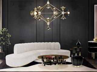 Idee per una casa Mid-Century Essential Home Soggiorno moderno
