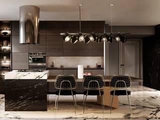 Idee per una casa Mid-Century Essential Home Cucina attrezzata