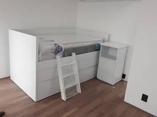 Carpinteria Alcocer Nursery/kid's roomBeds & cribs Kayu White