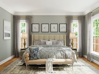 press profile homify BedroomBeds & headboards
