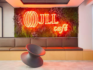 Oficinas JLL-Tétris Portugal GREENAREA Oficinas y tiendas de estilo ecléctico