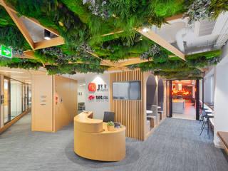 Oficinas JLL-Tétris Portugal GREENAREA Edificios de oficinas de estilo ecléctico