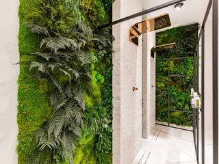 Jardines verticales preservados en baños GREENAREA Paredes y suelosDecoración de paredes