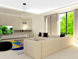 Studio Zay Architecture & Design Built-in kitchens Concrete Beige