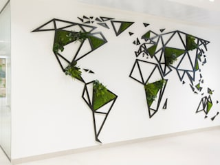 Mapa mundi GREENAREA Paredes y suelosDecoración de paredes