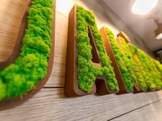 Logotipos vegetales GREENAREA Paredes y suelosDecoración de paredes
