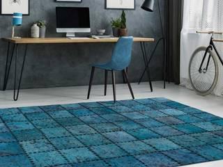 www.tappeti.it HouseholdTextiles Tekstil Blue