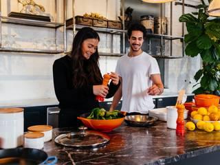 Hobbyräume gestalten – Tipps und Tricks zur Einrichtung press profile homify Kleine Küche