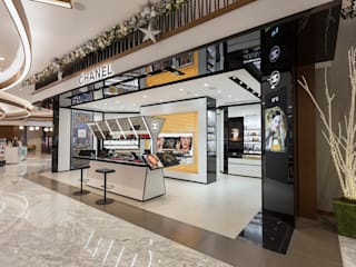 Kroma Photo Office spaces & stores Wood effect