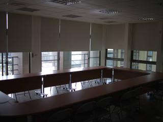 辦公空間的完美提案 百葉簾.蜂巢簾.捲簾.斑馬簾 MSBT 幔室布緹 Modern Study Room and Home Office White