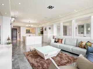 桃園 - 古典藝術宅 收藏「家」 趙玲室內設計 客廳