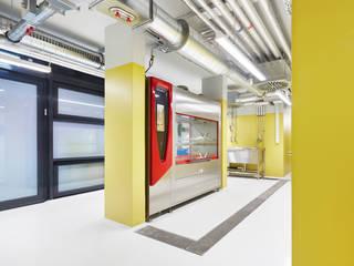 Forschungsflächen im Friedrich-Miescher-Laboratorium Dannien Roller Architekten + Partner PartG mbB Industriale Bürogebäude