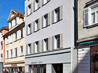 Energetische Sanierung Wohn- und Geschäftshaus Dannien Roller Architekten + Partner PartG mbB Klassische Ladenflächen