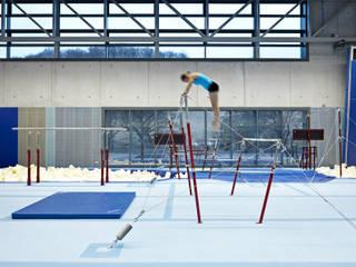 Universitätsturnhalle für Kunstturnen Dannien Roller Architekten + Partner PartG mbB Industriale Schulen