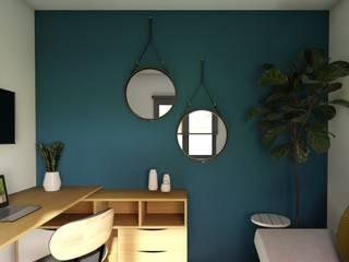 Gabi's Home Kleines Schlafzimmer Blau