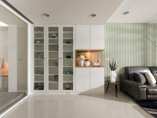 疊層光序 北歐制作室內設計 客廳