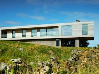 Upper Parkbrae House Brown & Brown Architects Modern home
