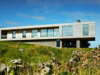 Upper Parkbrae House Brown & Brown Architects Casas de estilo moderno