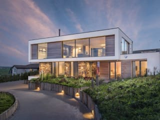 Contemporary low energy holiday home Arco2 Architecture Ltd Passiefhuis