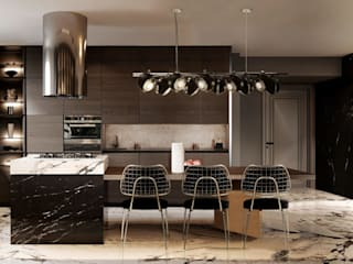 Five luxury kitchens ideas DelightFULL Built-in kitchens