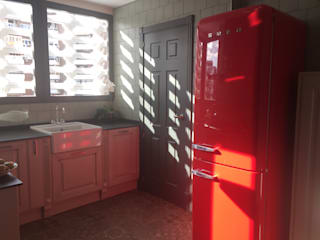 Estudio RYD, S.L. KitchenElectronics Aluminium/Zinc Red