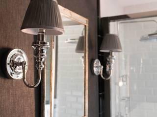 RINCONES IMPORTENTES DENTRO DE UNA VIVIENDA Estudio RYD, S.L. Baños de estilo clásico Compuestos de madera y plástico Gris