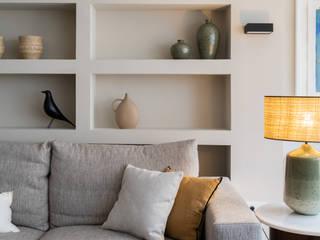 Casa Bachiller Destudio Arquitectura Salones de estilo moderno