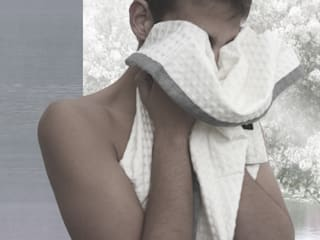 POEMO DESIGN BañosAccesorios y textiles Algodón Beige