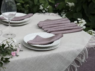 POEMO DESIGN Dining roomAccessories & decoration Flax/Linen Pink