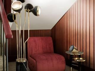 Cinque idee glamour per un ambiente rosa Essential Home Ingresso, Corridoio & Scale in stile moderno