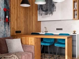 Interior designers Pavel and Svetlana Alekseeva Cucina in stile industriale