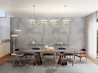 Five ideas for a dining room with neutral colors DelightFULL Comedores de estilo moderno