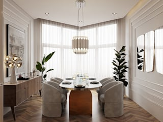 Five ideas for a dining room with neutral colors DelightFULL Modern Dining Room