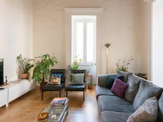 Facile Ristrutturare Livings de estilo clásico
