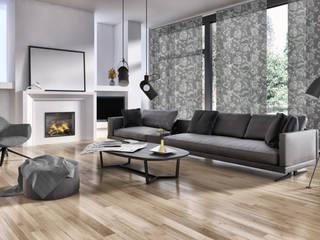 Schiebegardinen: Sonnenschutz mit schlankem Design Livoneo Fenster & TürFensterdekoration Grau
