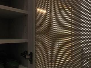 Melting Clouds 知域設計 斯堪的納維亞風格的走廊,走廊和樓梯 OSB Wood effect
