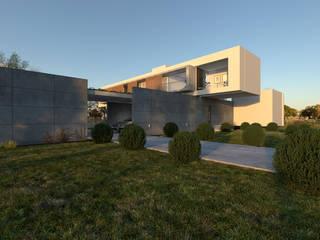 D'ODORICO arquitectura Casa unifamiliare Bianco