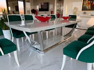 Villa in Italia - Brummel Brummel Sala da pranzo moderna Bianco