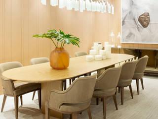 Elaine Ramos | Arquitetos Associados Modern dining room