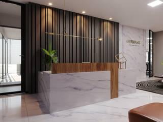 Elaine Ramos | Arquitetos Associados Modern style study/office