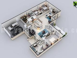 Yantram Architectural Design Studio Corporation Kamar Mandi Klasik