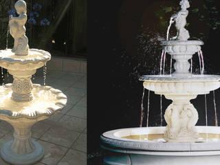 Springbrunnen / Gartenbrunnen ein Blickfang für den Garten! TRAX-MATTHIES Säulen Balustraden Stuck Garten im Landhausstil