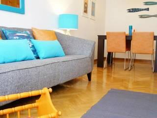 maria inês home style Mediterrane Wohnzimmer